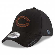 Men's Chicago Bears New Era Black 2018 Training Camp 39THIRTY Flex Hat 3064122