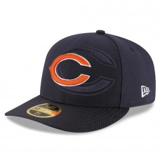 Men's Chicago Bears New Era Navy 2016 Sideline Official Low Profile 59FIFTY Fitted Hat 2419688