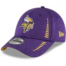 Men's Minnesota Vikings New Era Purple Speed Shadow Tech 9FORTY Adjustable Hat 3066610