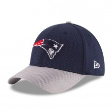 Men's New England Patriots New Era Navy 2016 Sideline Official 39THIRTY Flex Hat 2419574