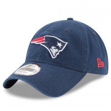 Men's New England Patriots New Era Navy Core Classic 9TWENTY Adjustable Hat 2786182