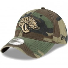 Men's New Era Woodland Camo Jacksonville Jaguars Core Classic 9TWENTY Adjustable Hat 2934458