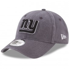 Men's New York Giants New Era Charcoal Sagamore Relaxed 49FORTY Fitted Hat 2787495