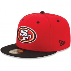 New Era San Francisco 49ers 2Tone 59FIFTY Fitted Hat - Scarlet 1019824