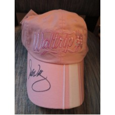 MICHAEL WALTRIP #55 SIGNED Authentic WOMAN'S PINK CAP /  HAT NEW with TAGS  eb-61239264