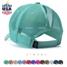 Ponytail Baseball Cap Messy High Buns Mesh Trucker Visor Summer Beach Hat Mujers  eb-28716913
