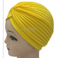 Stretchy Cotton Turban Head Wrap Band Sleep Hat Indian Caps Scarf Hat Ear Cap A1  eb-87258015