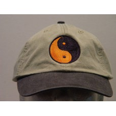YIN YANG SYMBOL HAT WOMEN MEN EMBROIDERED BASEBALL CAP Price Embroidery Apparel  eb-76980251
