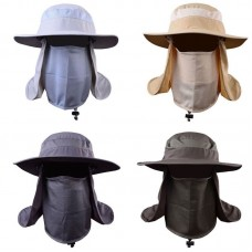 Boonie Snap Hat Brim Ear Neck Cover Sun Flap Cap Hunting Fishing Hiking Bucket  eb-93838157