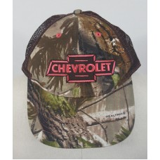 Chevrolet Chevy Mujer's Camo Pink Adjustable Baseball Cap  eb-03510447