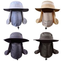 s  Outdoor Sport Hat Fishing Hiking UV Protection Face Neck Flap Sun Cap  eb-45584493