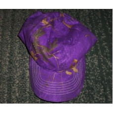 Mujer's Purple  Green  Brown Camouflage Areas Fashion Hat  Adjustable Strap  GUC  eb-40424802