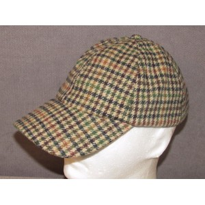 San Diego Hat Co. Multi Color Houndstooth Baseball Cap Adult 's Adjustable  eb-66527355