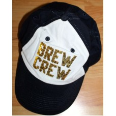 VICTORIA'S SECRET PINK Milwaukee Brewers Brew Crew BLING Baseball Hat Cap NEW  eb-35347624