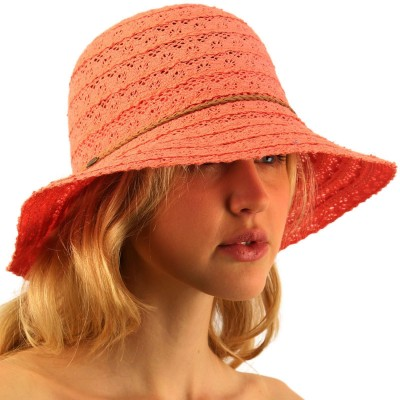 CC Everyday Lace Cloche Summer Derby Beach Pool Bucket Crushable Sun Hat  eb-57357765