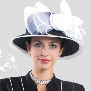 's hat White  Match Sunday Church suits Design By Lynda's L350  eb-03956052