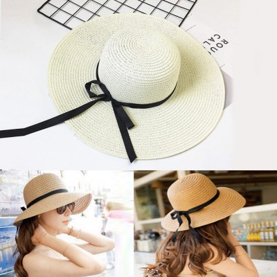 Fashion  Ladies Wide Large Brim Summer Sun Hat Outdoor UV Protection Cap  eb-41839791