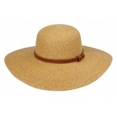 Mujer Braid Straw Wide Brim Classic Fedora Sun Hat UPF50+ Drawstring Light Brown 740704993429 eb-62423171