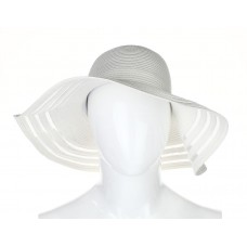 Nordstrom Rack White Wide Trim Hat One Size   eb-67540132