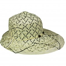 Silver Fever ® Mujer Summer Fancy Sun Hat Fits All Black & Beige 714983289061 eb-11561908