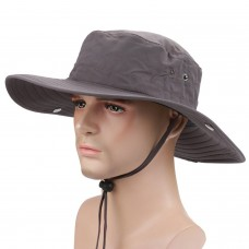 Surblue Wide Brim Cowboy Hat Collapsible Hats Fishing/Golf Hat Sun Block UPF50+ 5901200390043 eb-66282215