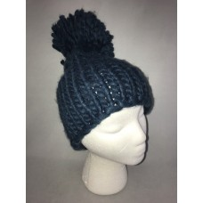 BCBGeneration Mujer's Everyday Basic Beanie Hat Stormy Sea One Size New 51059462837 eb-22265936