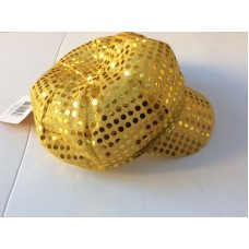 New GOLD Fashion Mujers Shining Sequin Hat Party Beanie Chic Cap Cute   eb-60629511