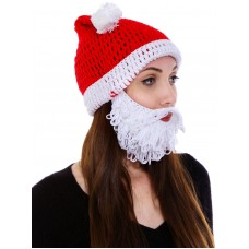 New Handcrafted Adult Bearded Beanie Hat Winter Knitted Caps with Funny Beard 887415013326 eb-85124639
