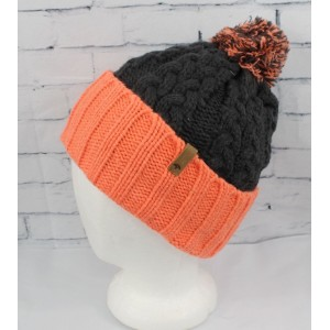 New with Tags s Celtek Sienna Pom Beanie Charcoal  eb-37339468