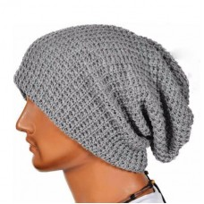 Unisex Knitted Wool Slouch Beanie Cap Hat  eb-43045711