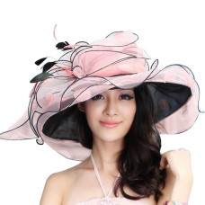 US Local Shipment Mujer Derby Hat Party Fedora Ascot Race Sun Dress Beach Hat  eb-30813018