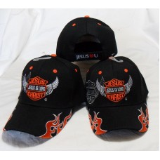 3 Pack Jesus Is LORD Black Romans 10:9 Christian Hat Baseball Cap Gift   eb-01588690