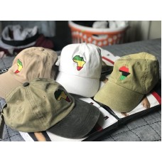 Africa  Dad Hat Adjustable Cap Khaki  Green & Black  White And Green  eb-83675813