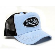Authentic Brand New Von Dutch Black/Blue Corduroy Cap Hat  eb-62644583