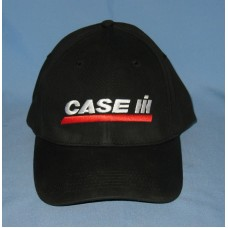Case International Harvester IH Black Snap Back Farmer Hat Trucker Cap  eb-15381781