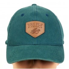 Columbia Dry Fly Sportsman Fishing Baseball Cap Hat Stretch Fit S/M Green  eb-55768584