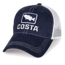 Costa Del Mar HA 18N Bass Trucker XL Navy / White 97963488693 eb-40999233