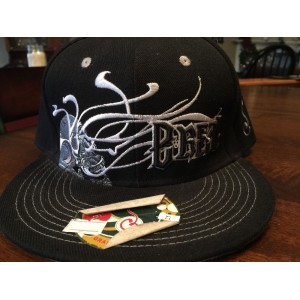Grassroots California Hat B Real Skull OG Black Fitted Vintage Style Brand New  eb-93322755