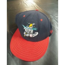 New Era Portland Sea Dogs Minor League Baseball Hat Cap Size 7 3/8 Alternate Cap  eb-11919846