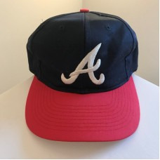 Vintage ATLANTA BRAVES MLB Snapback Baseball Hat Cap Adjustable  eb-25561932