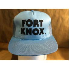 Vintage Fort Knox Mesh Snapback Trucking Trucker Hat Cap Youngan  eb-43343319