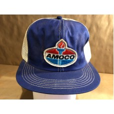 Vintage Snapback Amoco Trucking Patch Trucker Hat Cap KBrand  eb-53136064