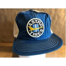 Vintage Snapback Astro Tires Patch Mesh Trucking Trucker Hat Cap Promo Wear  eb-77593921