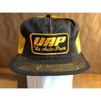 Vintage VAP The Auto Pros Patch Mesh Snapback Trucking Trucker Hat Cap K Brand  eb-76552701