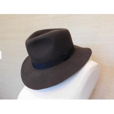 Biltmore® for Madewell Collaboration $68 StraightBrim Felt Fedora Hat SM Brown  eb-95415112