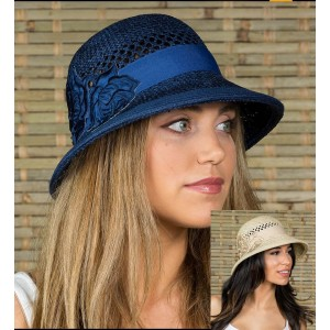 's summer Cloche Fedora Floppy Hat for Beach vacation travel Camping   eb-16437051
