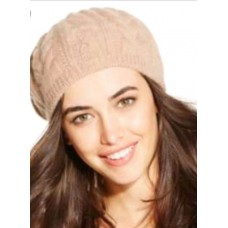 Charter Club Cashmere Beret Heather Camel NWT Original Retail $70  eb-63256896