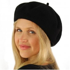 Classic Winter 100% Wool Warm French Art Basque Beret Tam Beanie Hat Cap Black 741459484217 eb-29962126