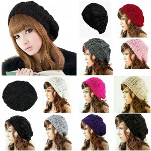 s Cap Newest Knit Hat Hoodie Slouchie Slouchy Style Beanie Baggy Head Warm  eb-24712468