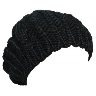 New Arrivals Lady Winter Warm Knitted Crochet Slouch Baggy Beret Beanie Hat Cap  eb-21862789